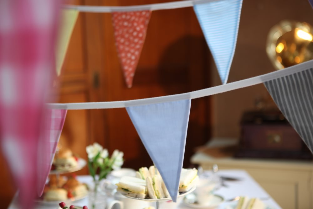 Large Multi Colour Bunting