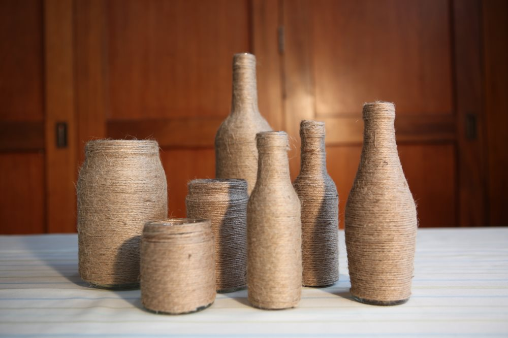 Twine Bottles & Jars