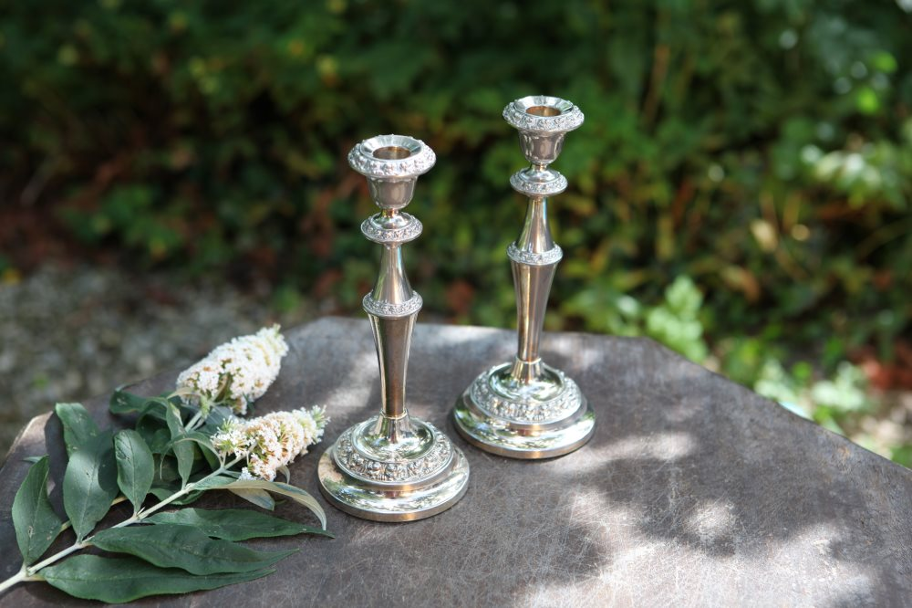 Silver Candlesticks/Holders