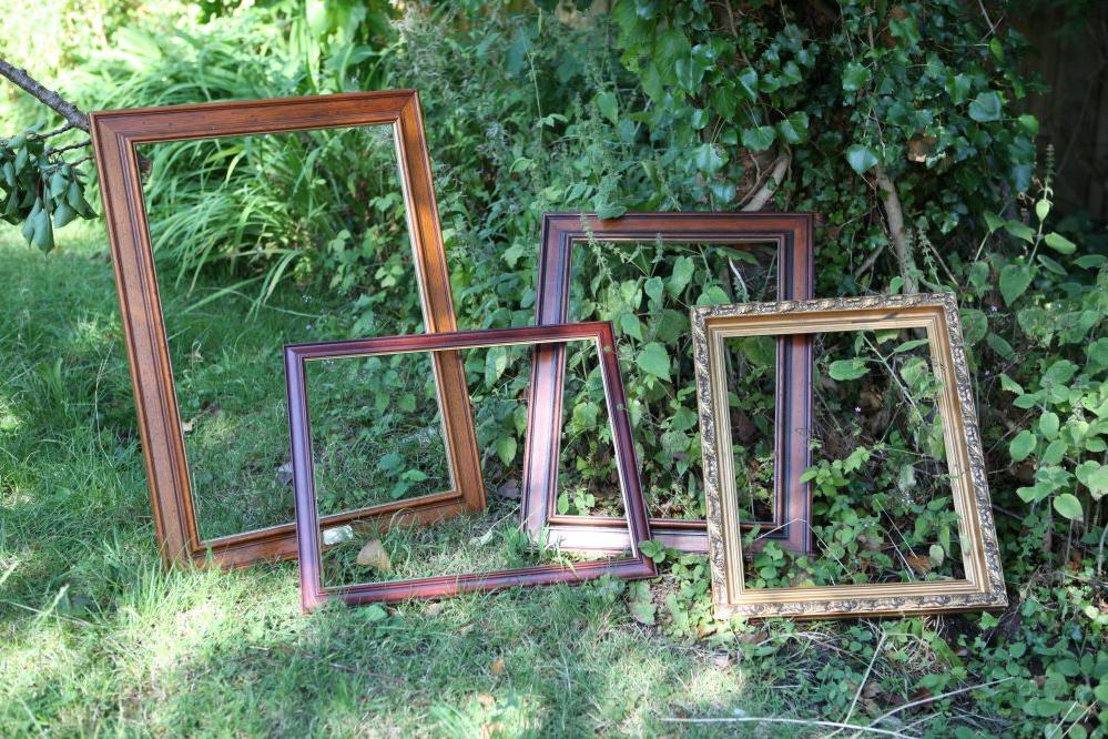 Wooden Picture Frame Set