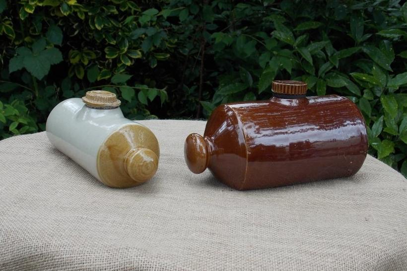 Stoneware Hot Water Bottles