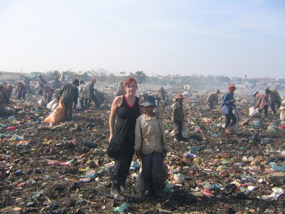 Katy Bullen on dump.jpg