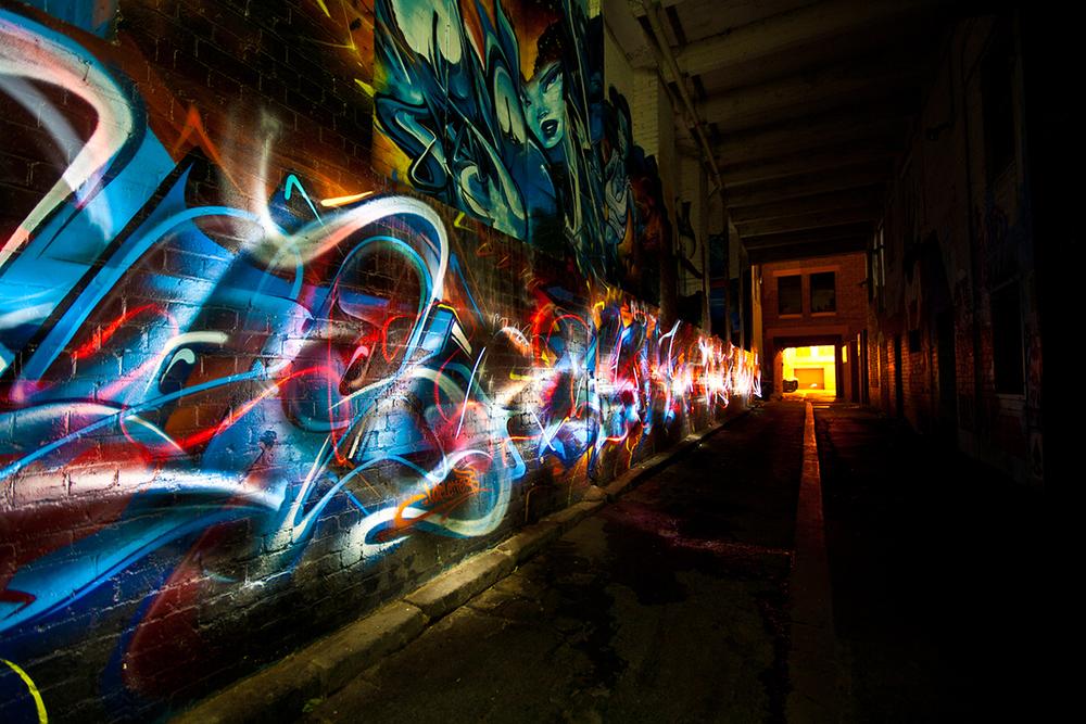 Dark Street Art