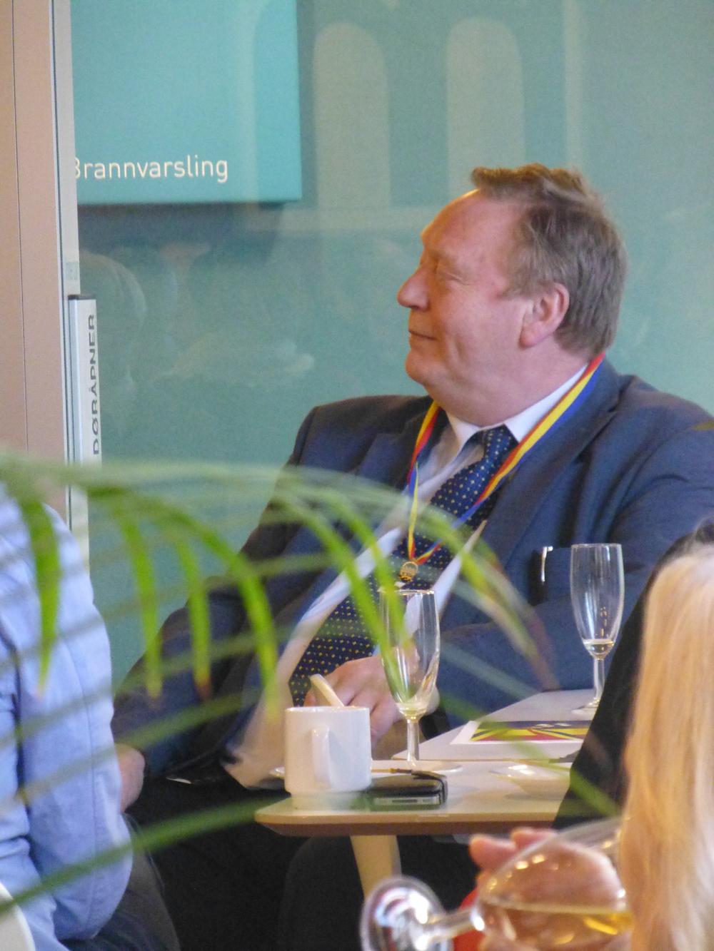 Morten Johan Svendsen        Foto. Astrid Wittersø