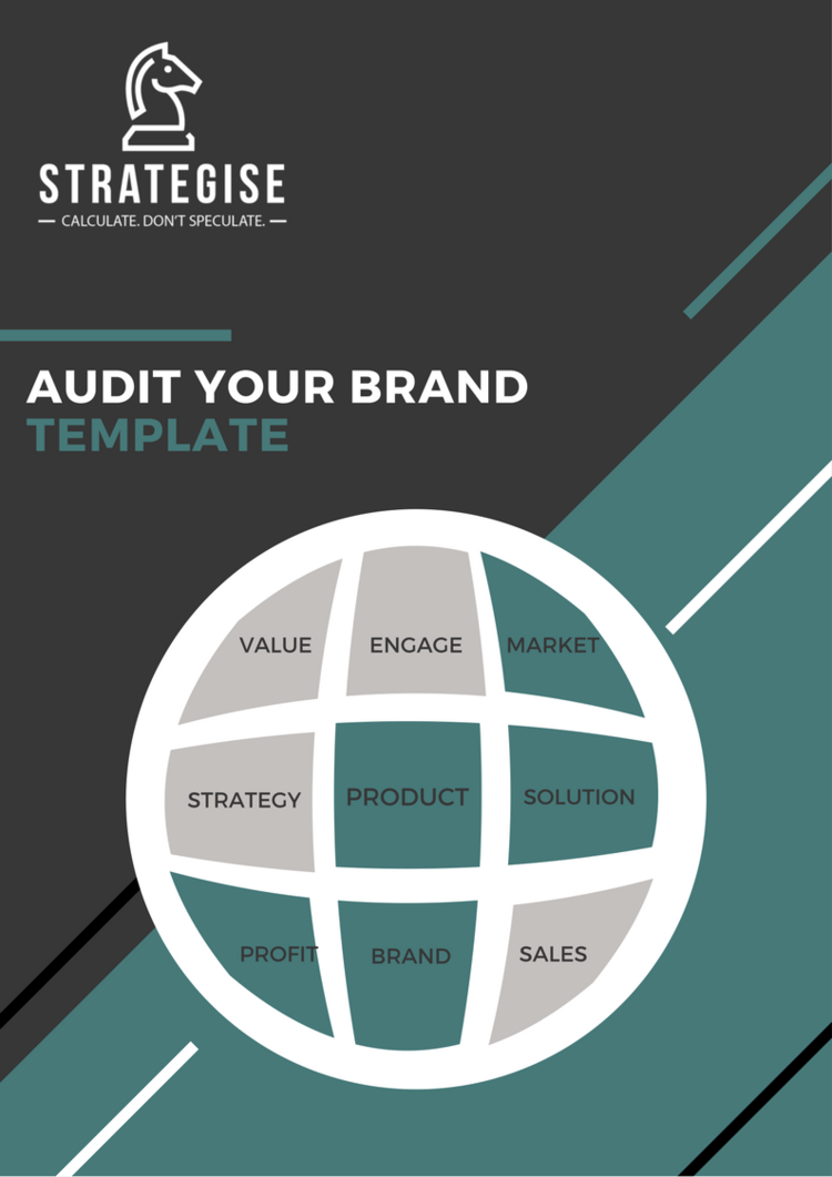 Marketing Strategy Templates And Tools Audit Your Current Brand