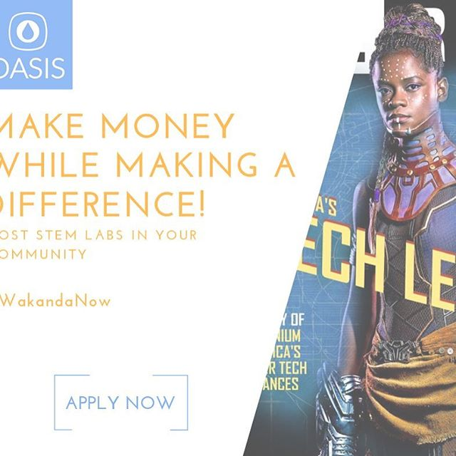 "Link in the bio. Join the ""village"" of community-minded entrepreneurs who want Wakanda now AND forever! #wakandaforever #weneedmore #stem #hiphoped #hiphopeducation #blackentrepreneurs"