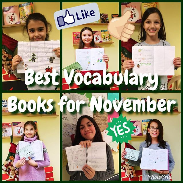 Best Vocabulary Books for November @up_school #upschool #vocabularybooks #loveenglish