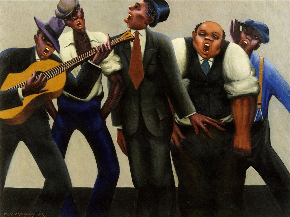 The Jazz Singers  (1934) by Archibald Motley