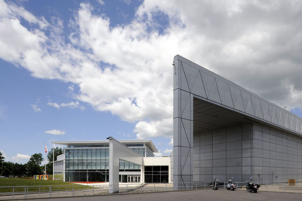 Canadian Aviation and Space Museum Exterior 10.jpg