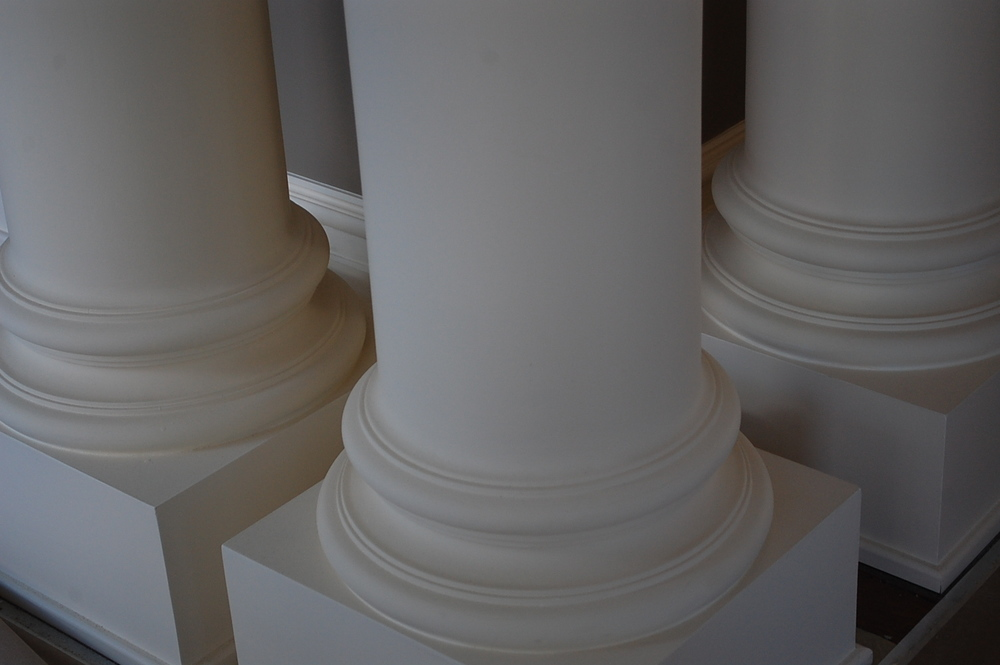 Irish Ambassador's Residence pillar detail.JPG