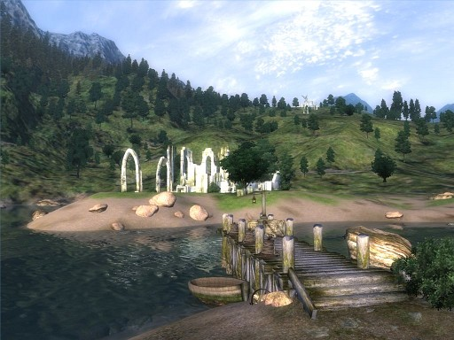 Your first view of Cyrodiil in Oblivion. Now go do whatever you want.