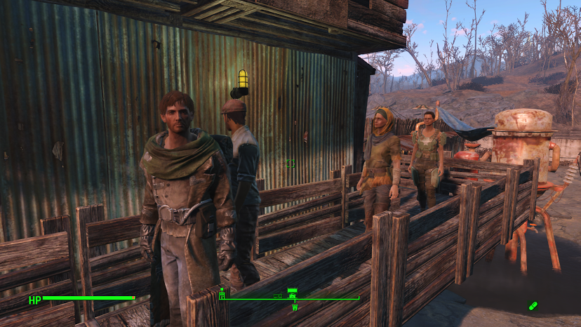 My settlers standing around doing absolutely nothing