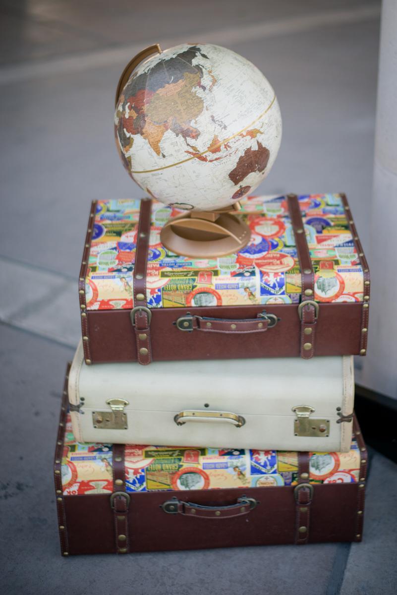 Travel Wedding Decor