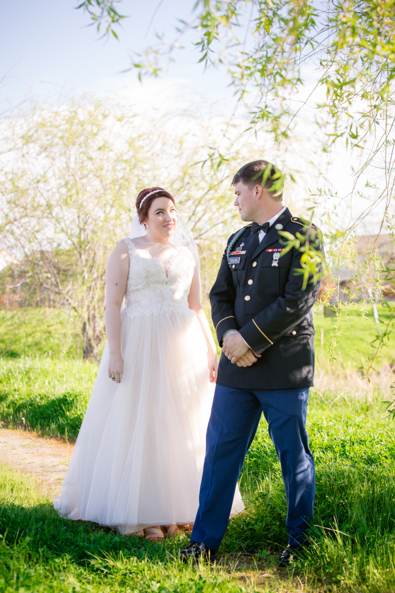 Couple's Wedding Portraits