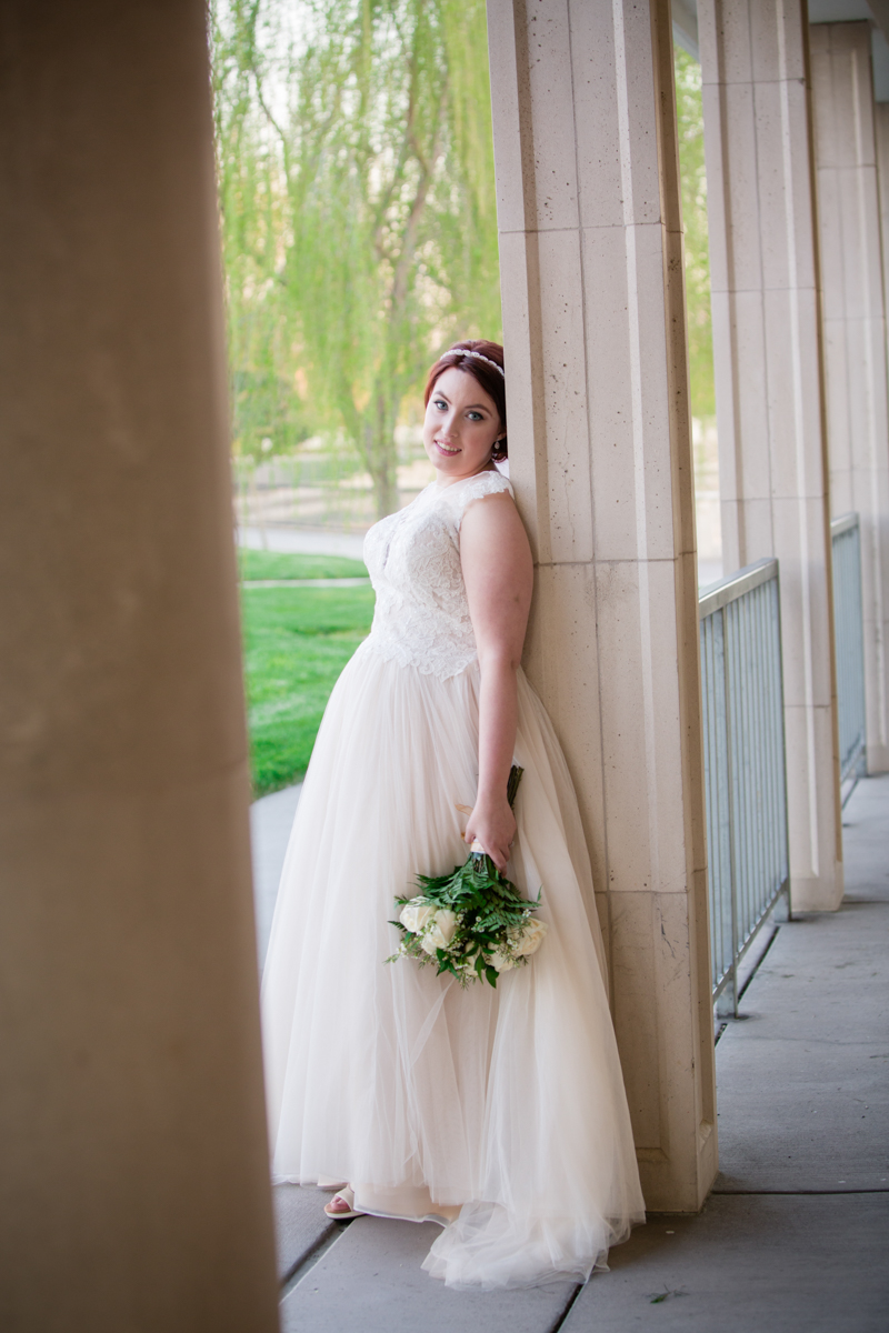 Lindsey featuring Sacramento's Bride to be Couture Dress