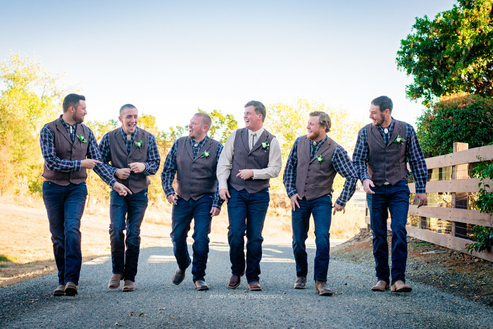Kaleigh & Chris - Rancho Victoria Vineyards - Sacramento Wedding Photographer - Ashley Teasley Photography --8.JPG