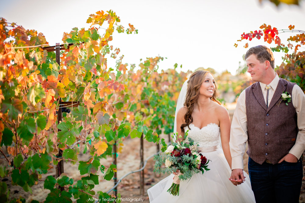 Kaleigh & Chris - Rancho Victoria Vineyards - Sacramento Wedding Photographer - Ashley Teasley Photography --34.JPG