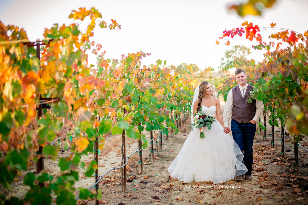 Kaleigh & Chris - Rancho Victoria Vineyards - Sacramento Wedding Photographer - Ashley Teasley Photography --35.JPG