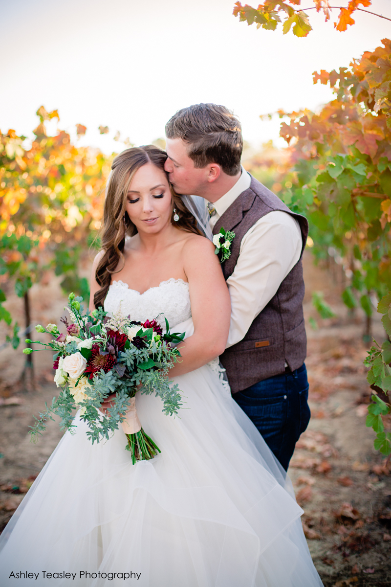 Kaleigh & Chris - Rancho Victoria Vineyards - Sacramento Wedding Photographer - Ashley Teasley Photography --38.JPG