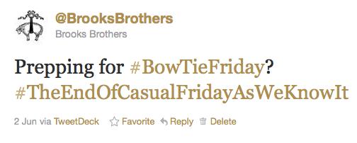 #BowtieFriday