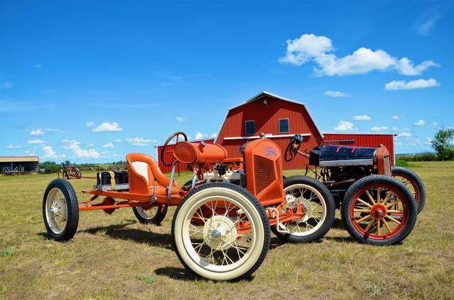 Harry Lillo's Orange Crush, the original Rasmussen racer