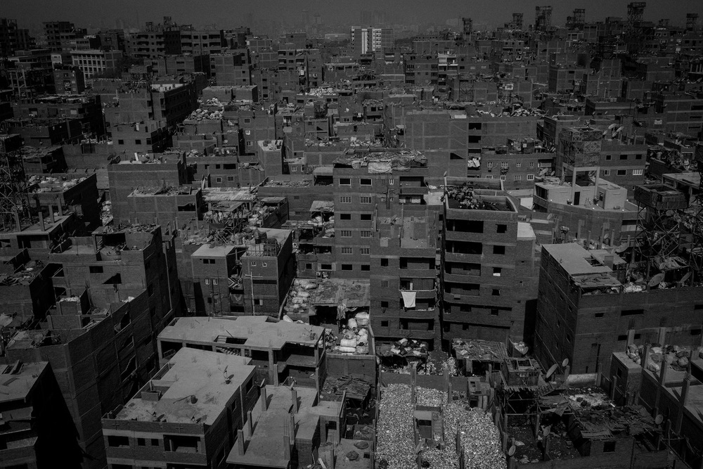 Egypt.  Slum in Cairo