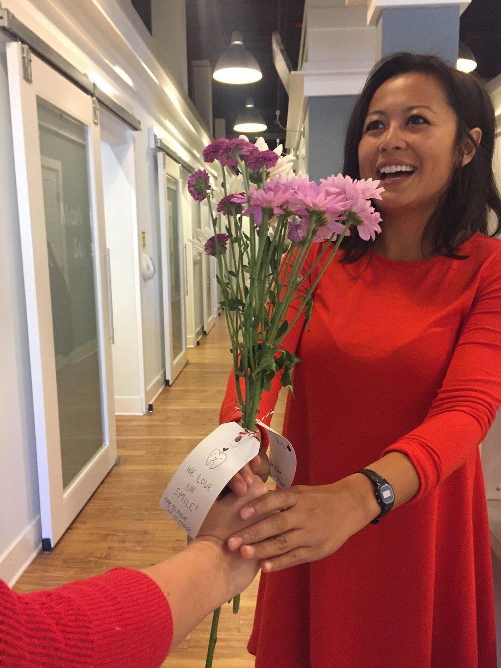 Wilmington Dentist Valentine Flower.jpg
