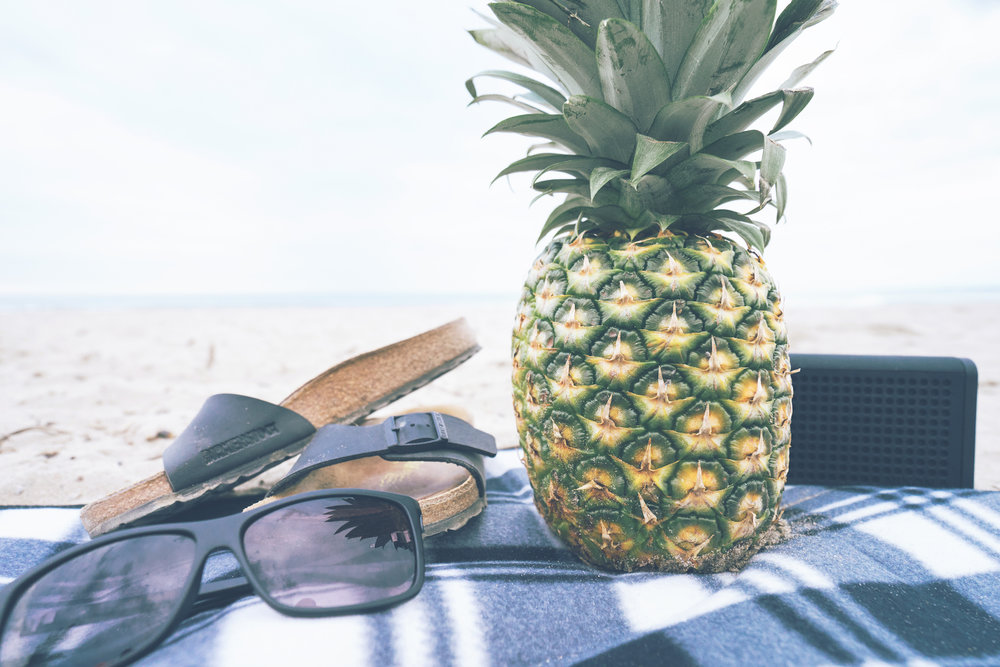 PIneapple on Beach Towel.jpg
