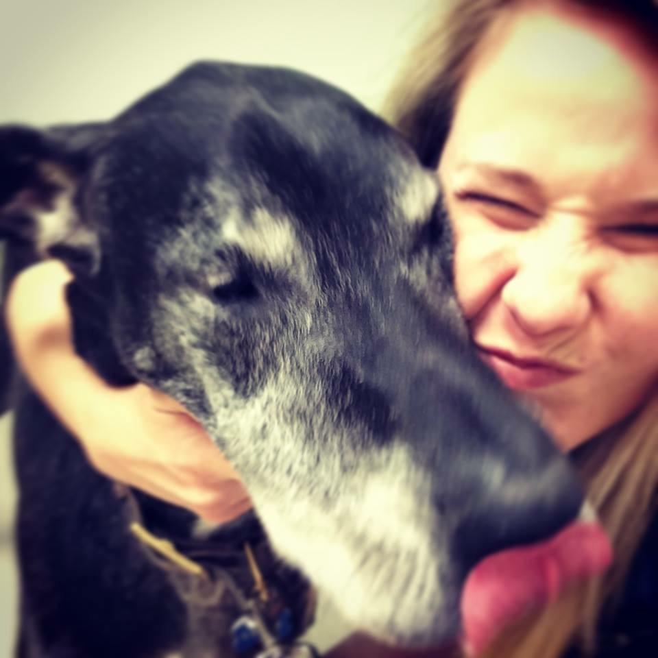 Dr. Lauren Marechal Wilmington with her Dog.jpg