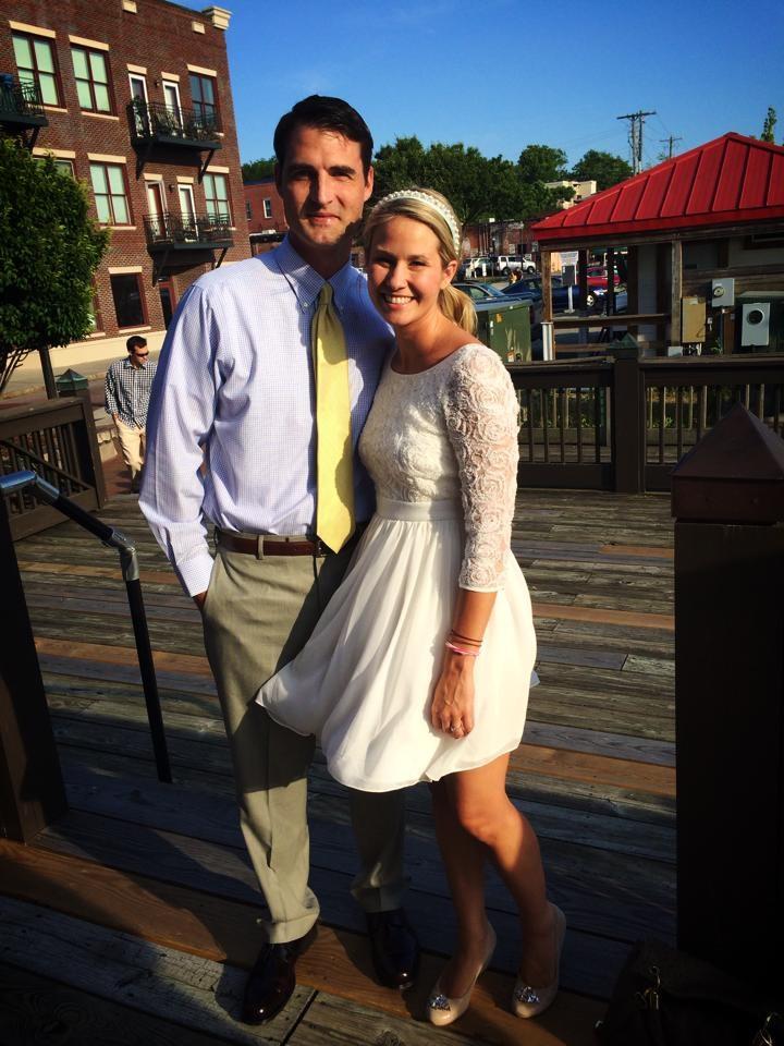 Dr. Lauren Marechal Wilmington with her Husband.jpg