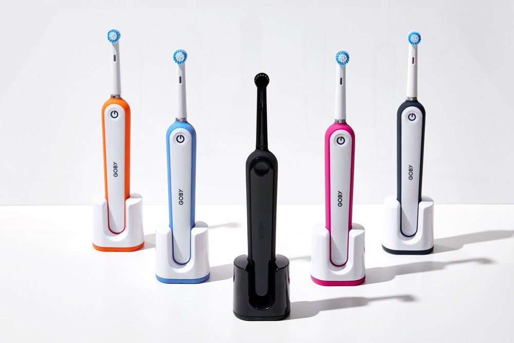 No spaceship looking brushes here: Goby puts simplicity back into using an electronic toothbrush.