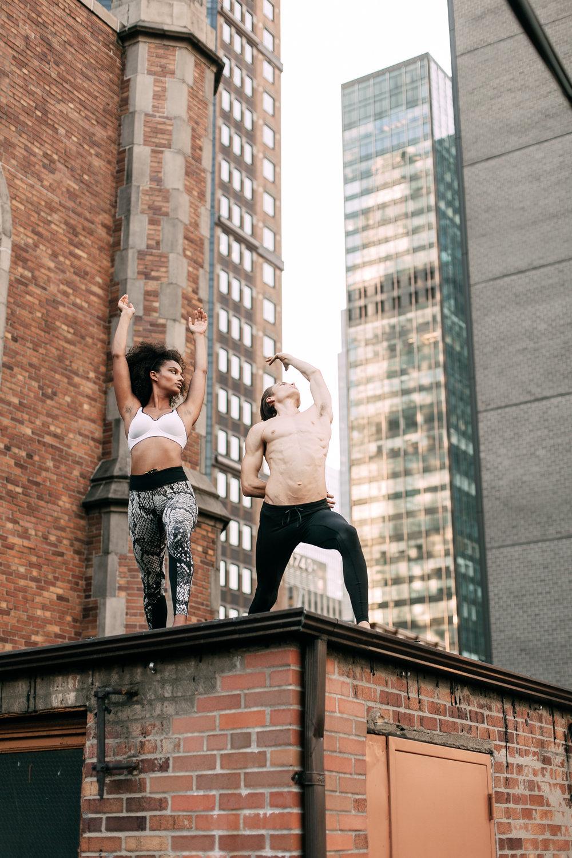 New York City engagement photographer, New York engagement photographer, NYC engagement photographer, NYC rooftop engagement session, NYC engagement session, New York rooftop engagement session