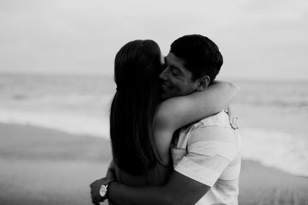 KaraNixon-VictoriaBeach-Blackandwhite-Engagement.jpg