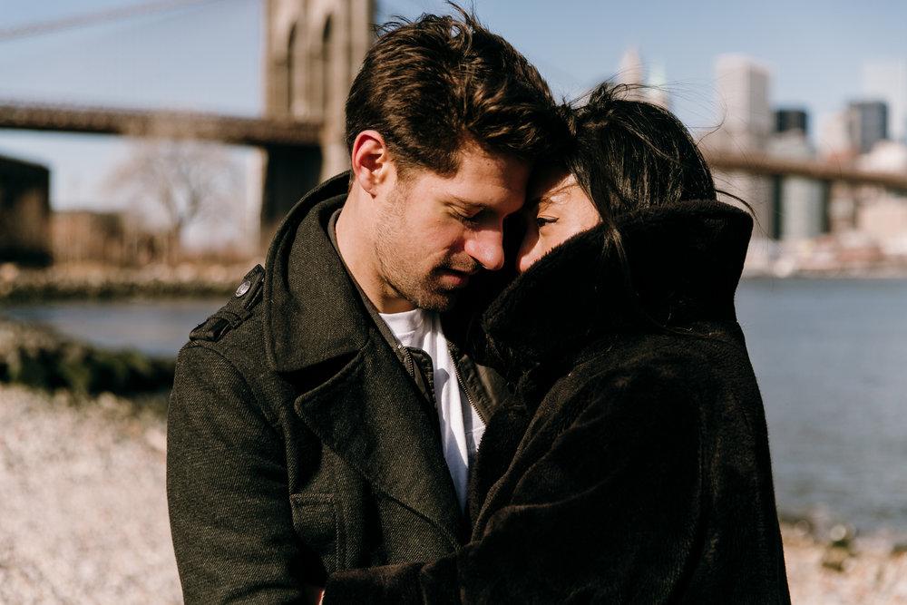 Brookyln engagement photographer, New York engagement photographer, NYC engagement photographer, Brooklyn Bridge engagement session, Brooklyn Bridge, NYC engagement session, DUMBO engagement session
