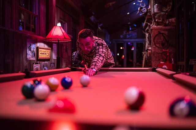 I never stood a chance. . . #pool #poolshark #sheplayedme #iplayedmyself #nikon #d850 #jacksonhole #splitcreekranch #aquilabilies