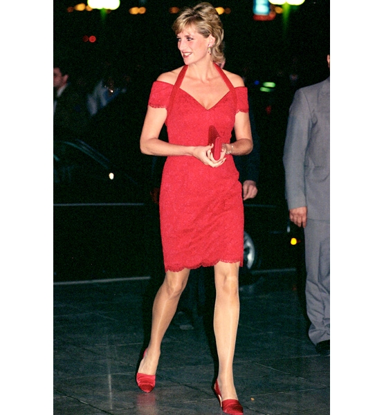 Pincess Diana, 1995 (Credit: Tim Graham/Getty Images)