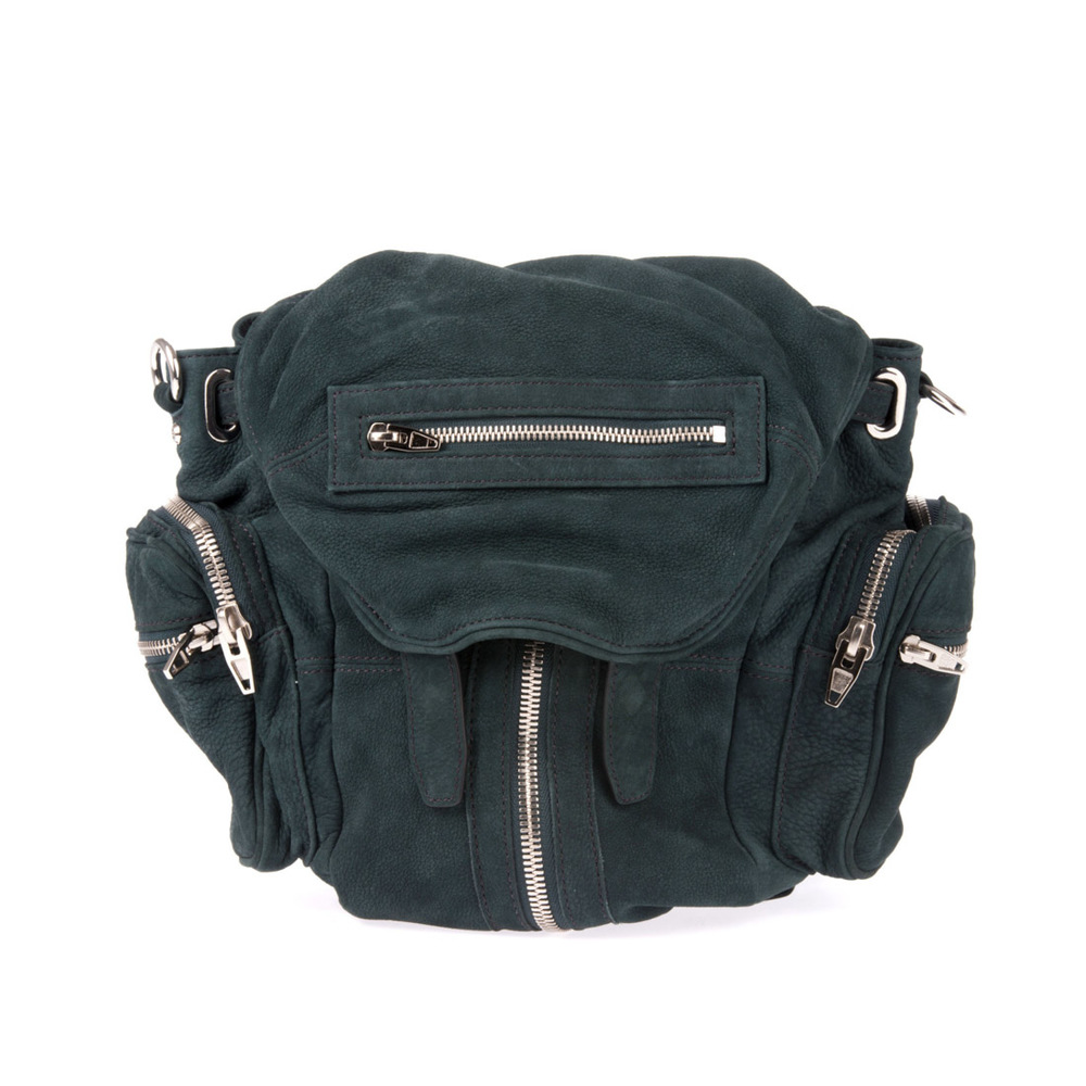 Alexander Wang green marti leather backpack