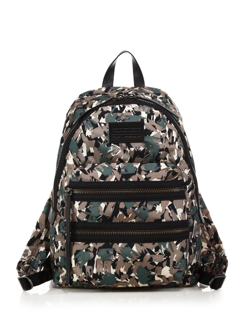 Marc by Marc Jacobs Domo camouflage nylon backpack