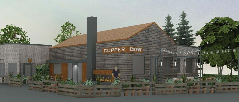 Copper Cow -