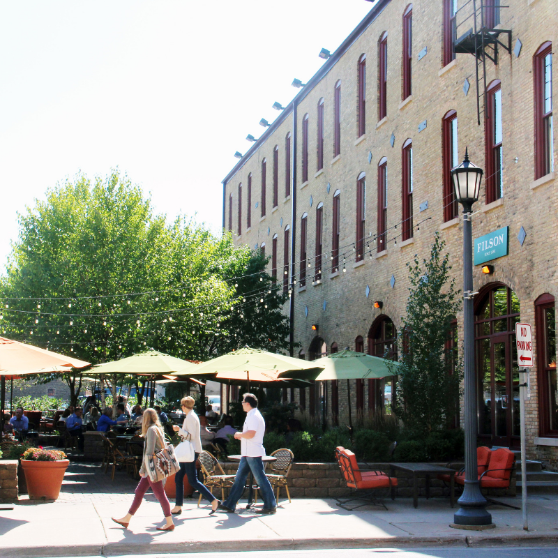 North Loop - The North Loop fosters a robust and communicative community that promotes and supports its local businesses and entrepreneurs, recognizing that without them the vibrant community would not exist as it does today.