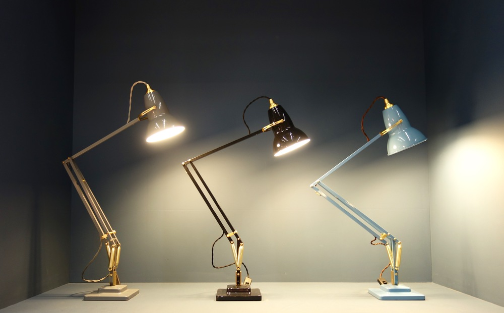 Desk lamps from Anglepoise.