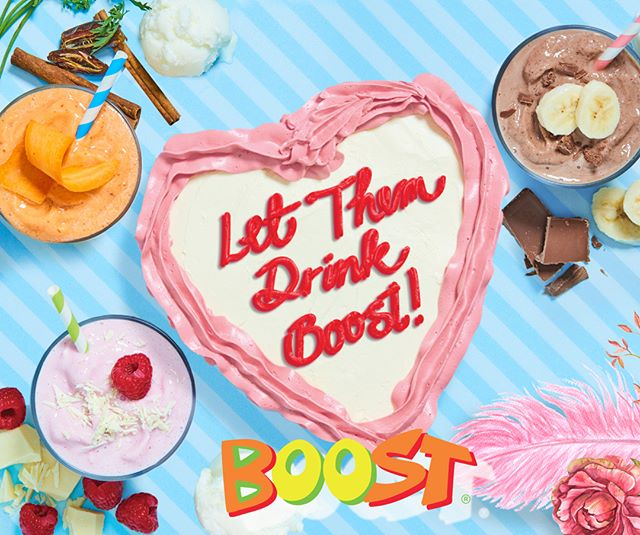 LET THEM DRINK BOOST Treat your taste buds to something seriously decadent! Boost Juice are currently blending 3 NEW deliciously lavish smoothies inspired by your favourite cake flavours! Introducing the mouth-watering Aristo-Carrot Cake, Death by Choccy Bits and Raspberry White Choc! Try one or try them all! Available instore at Henry Deane Plaza until 22 April. #boostjuice #henrydeaneplaza