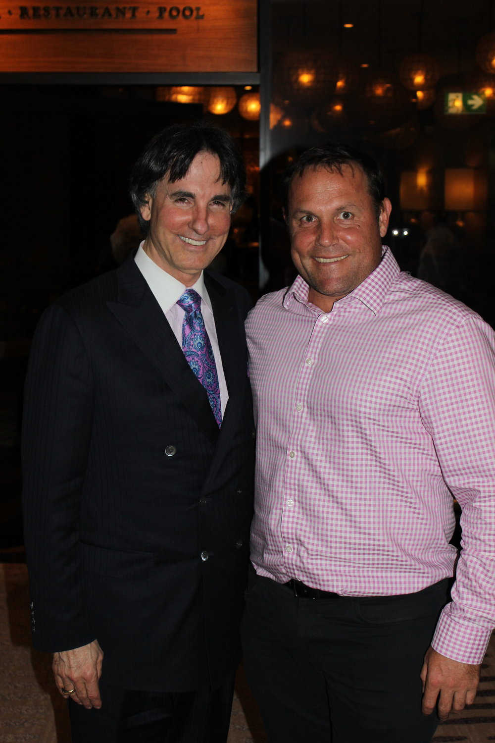 Surround yourself with inspirational people helps you grow.... here with the Dr John Martini.