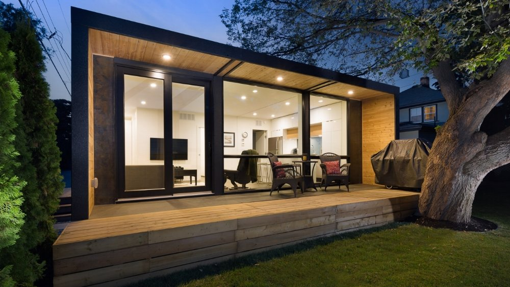 AT GROUND LEVEL & Honomobo | Modern Modular \u0026 Prefab Container Homes
