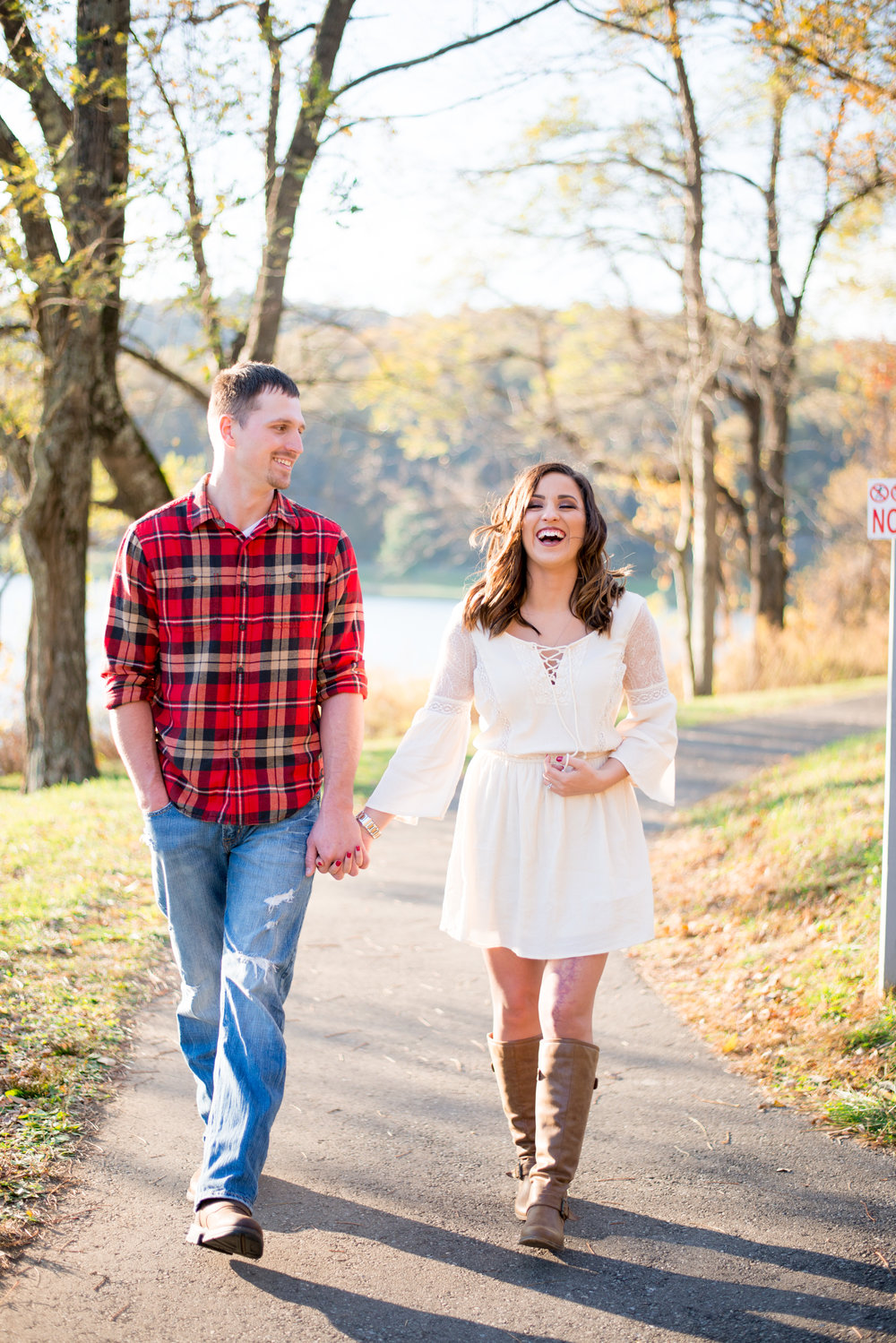 AN AUTUMN SHARP TOP MOUNTAIN ENGAGEMENT SESSION | COURTNEY + MIKE