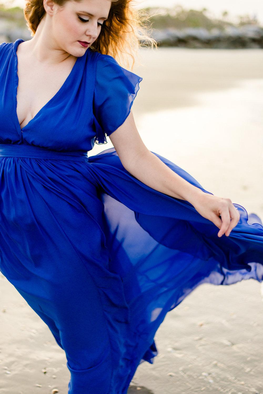 FOLLY BEACH PORTRAIT SESSION // GIOVANNA HANSON