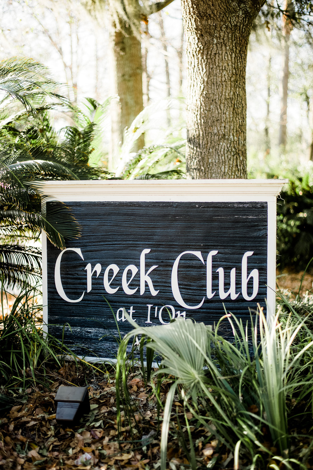 TIMELESS CREEK CLUB AT I'ON WEDDING
