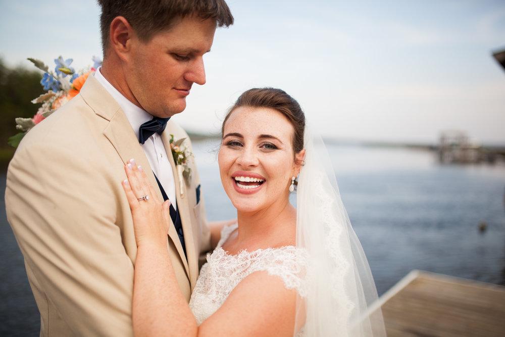 A CORAL + NAVY WEDDING AT THE POLAR GROVE BOATHOUSE