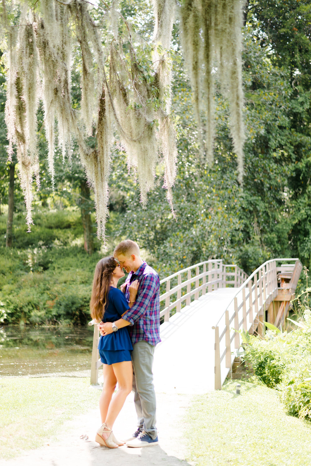MIDDLETON PLACE ENGAGEMENT SESSION | MIKE + HOLLY