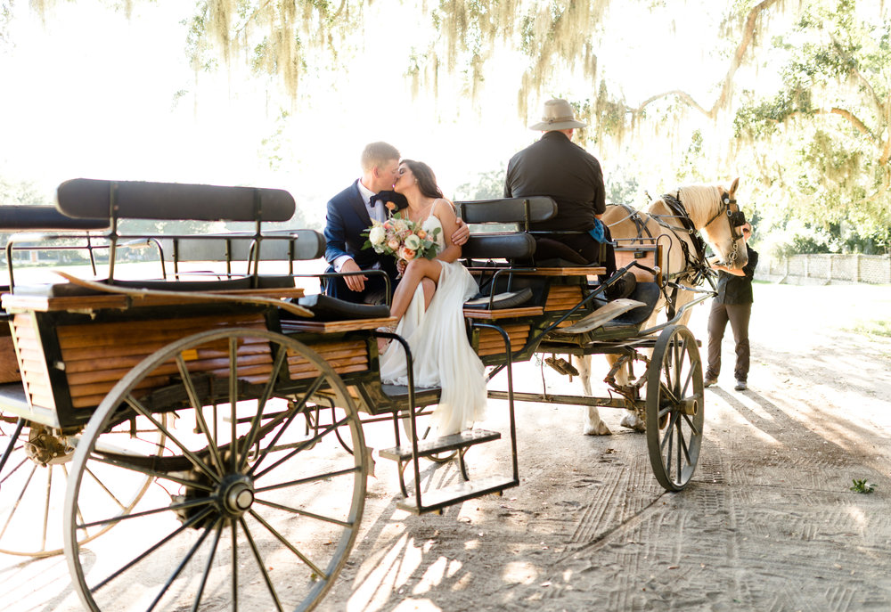 A MINT WEDDING AT MIDDLETON PLACE PLANTATION